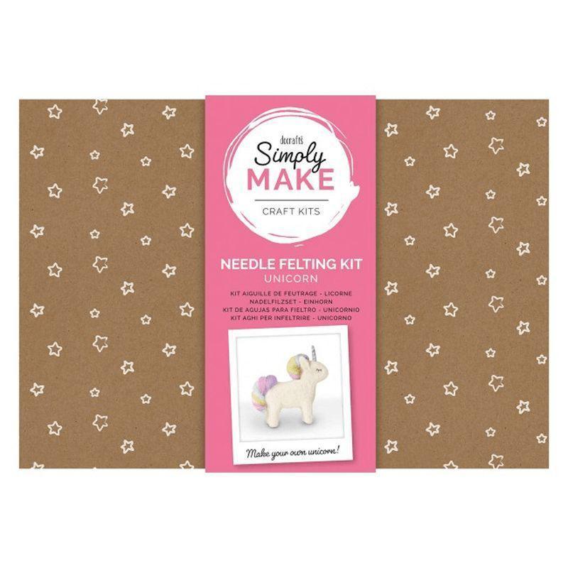 Simply Make Needle Felting Kit: Unicorn