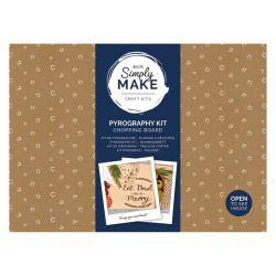 Simply Make Chopping Board Pyrography Kit