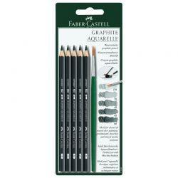 Graphite Aquarelle Pencil Set of 5
