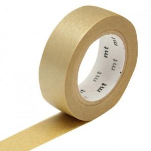 Washi Masking Tape Roll: Gold