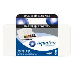 Aquafine Travel Set (12 Half Pans)