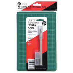 A5 Cutting Mat With Hobby Knife Set