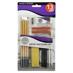 Simply Artist Sketching Set (13 Pieces)
