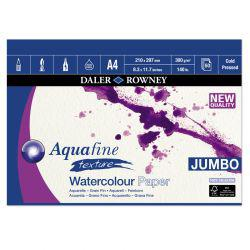 Aquafine Watercolour Jumbo Pads: Gummed (300gsm, NOT)