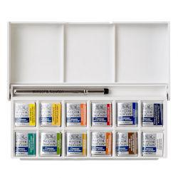 Cotman Watercolour Sketchers' Pocket Box (12 Half Pans)