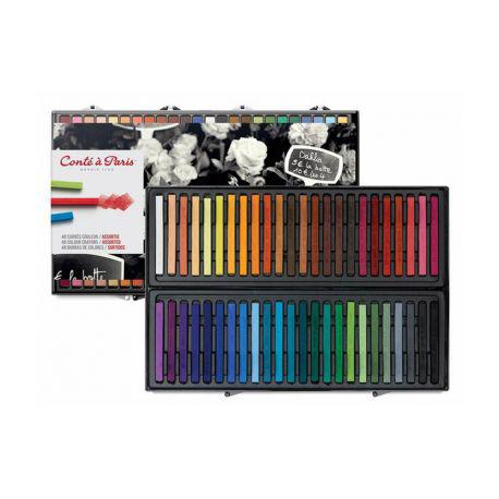 Carres Set of 48 Assorted Colours