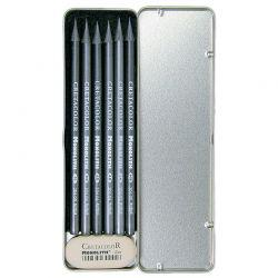 Monolith Graphite Pencil & Eraser Set