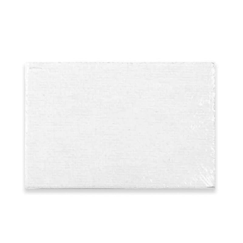 Simply Mini Rectangular White Canvas