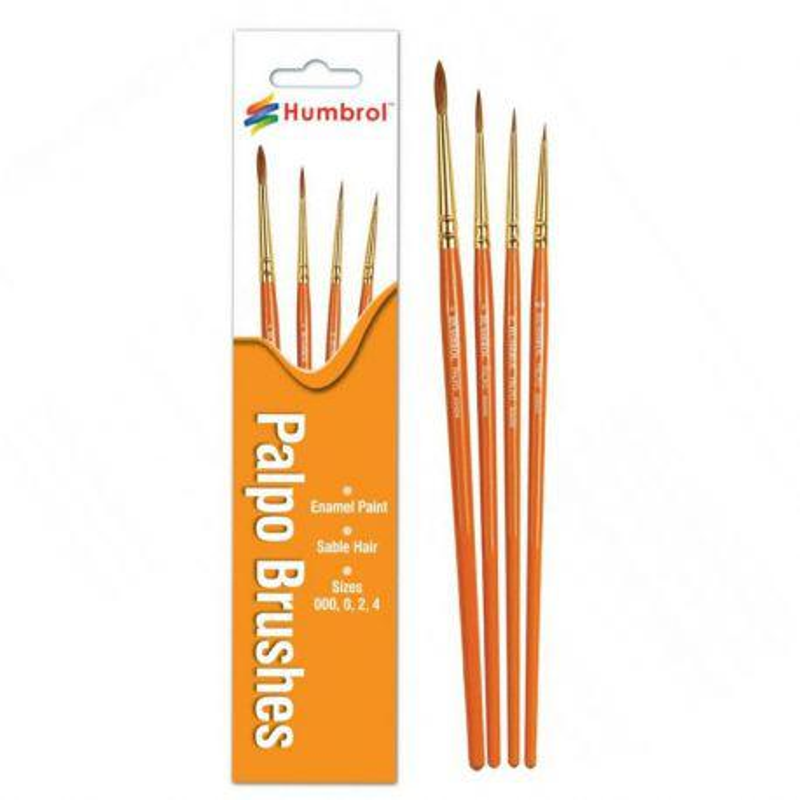 Paint Brush Set 4 Palpo Sable