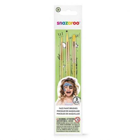 Face Painting Brushes (Pack of 3)