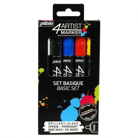 4Artist Marker Basic Set of 5
