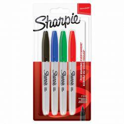 Fine Assorted Markers (Pack of 4)