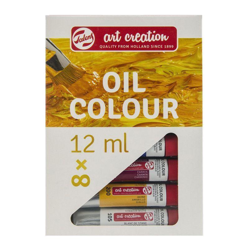 Art Creation Oil Set (8 x 12ml Tubes)
