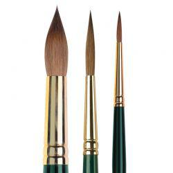 Renaissance Sable Series RS Round Brushes