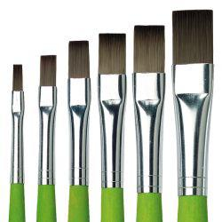 School & Hobby 374 Flat Brushes