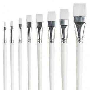 Series 32 Nylon Flat Brushes