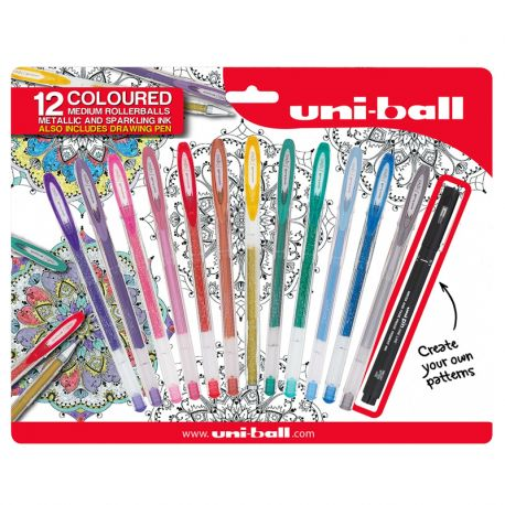 13 Piece Art Therapy Gel Pen Pack