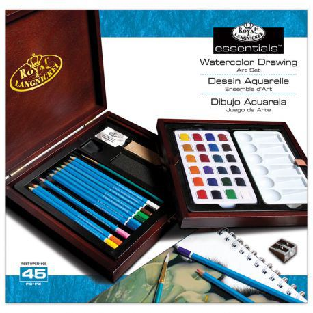 Essentials Watercolour Drawing Art Set