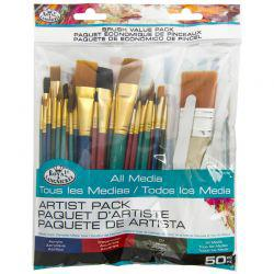 All Media Brush Value Pack (50 Pieces)