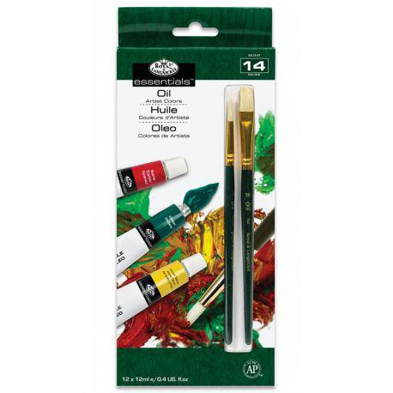 Essentials Artist Paint Pack: Oil