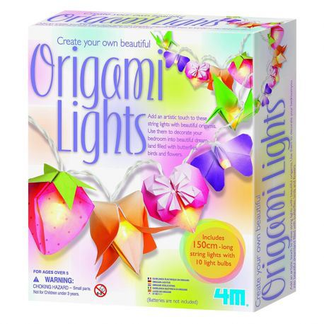 Create Your Own Beautiful Origami Lights