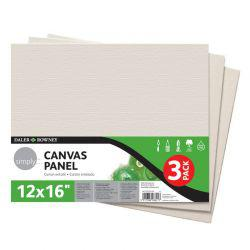"Simply Canvas Panel Triple Pack (12 x 16"")"