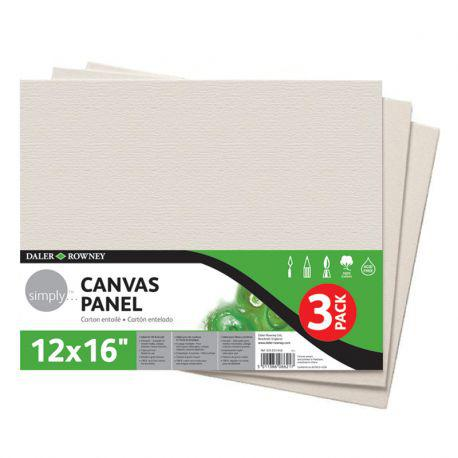 "Simply Stretched Canvas Twin Pack (11 x 14"")"