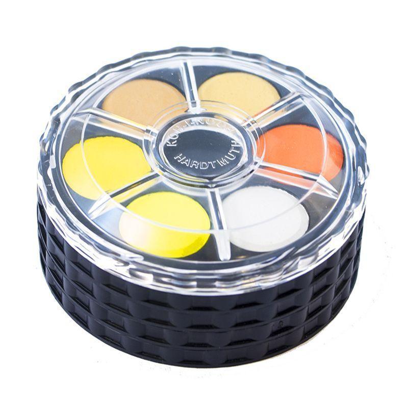 Koh-i-noor Watercolour Disc Set (24 Pans)