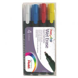 Arts Wet Erase Chalk Marker Standard Wallet of 4