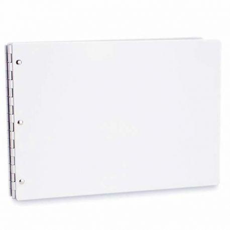 Vista Screwpost Binder Portfolios (Snow Cover)