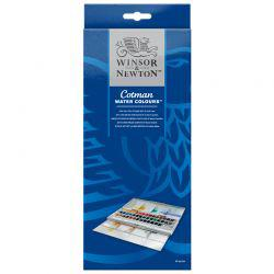 Cotman Watercolour Studio Set 45 Half Pan
