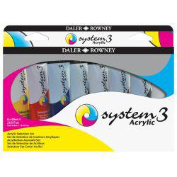 System 3 Acrylic Selection Set (8 x 59ml)