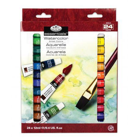 Essentials Acrylic Paint Pack (24 x 12ml)