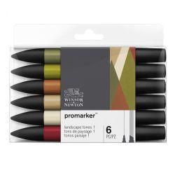 ProMarker Landscape Tones 1 (Set of 6)