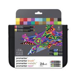 ProMarker Mixed Marker Wallet of 24