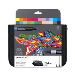 ProMarker Arts & Illustration Set of 24