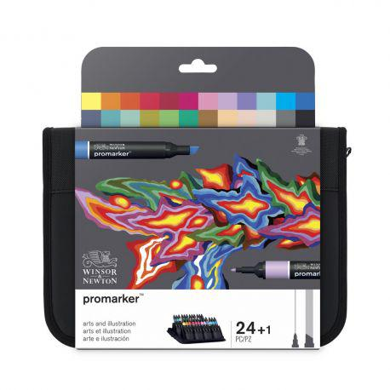 ProMarker Arts & Illustration Set of 24