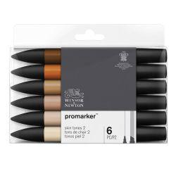 ProMarker Skin Tones Set 2 (Set of 6)