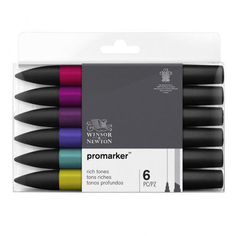 ProMarker Collectors Set Rich Tones