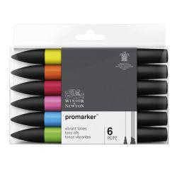 ProMarker Vibrant Tones (Set of 6)