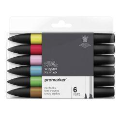 ProMarker Mid Tones (Set of 6)