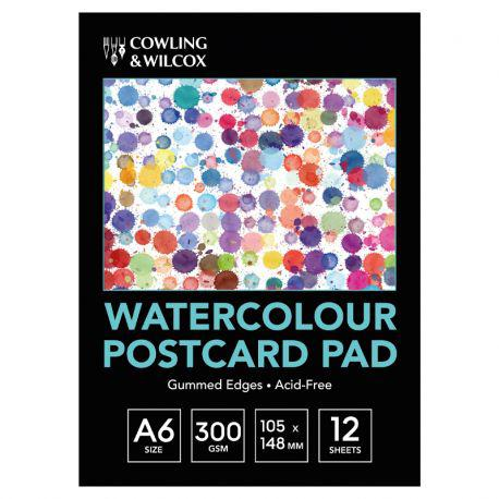 Watercolour Postcard Pad (A6)