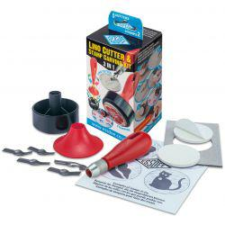 3-In-1 Lino Cutter & Stamp Carving Kit