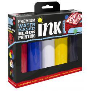Premium Quality Block Printing Ink Set (5 x 100ml)