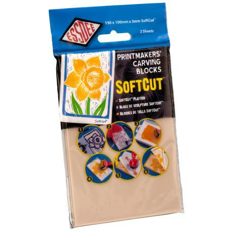 Lino Soft Cut Sheets (3mm)