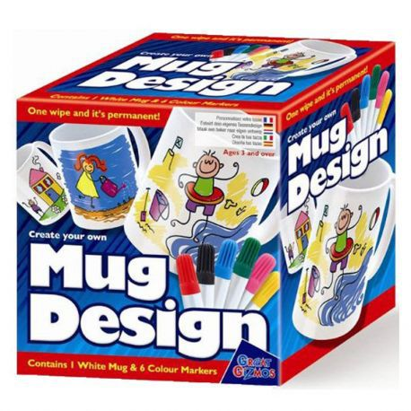 Create Your Own Mug Design With Pens