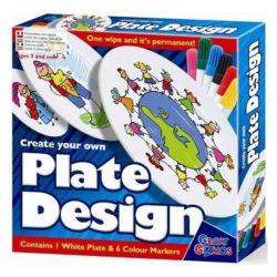 Create Your Own Plate Design With Pens