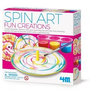 Little Craft Spin Art Fun Creation
