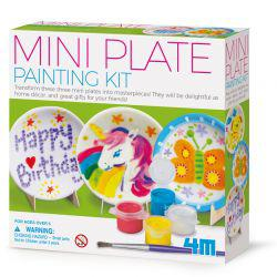 Little Craft Mini Plate Painting Kit