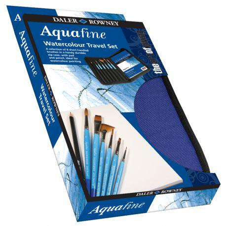 Aquafine Zip Case of 10 Mixed Brushes